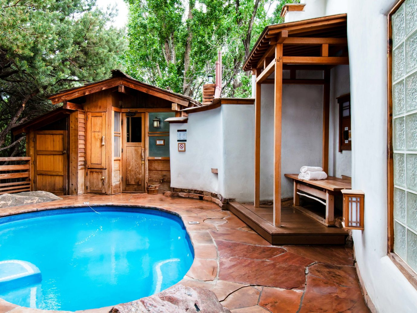 property home swimming pool real estate house estate leisure Resort backyard cottage wood Villa outdoor structure amenity vacation yard