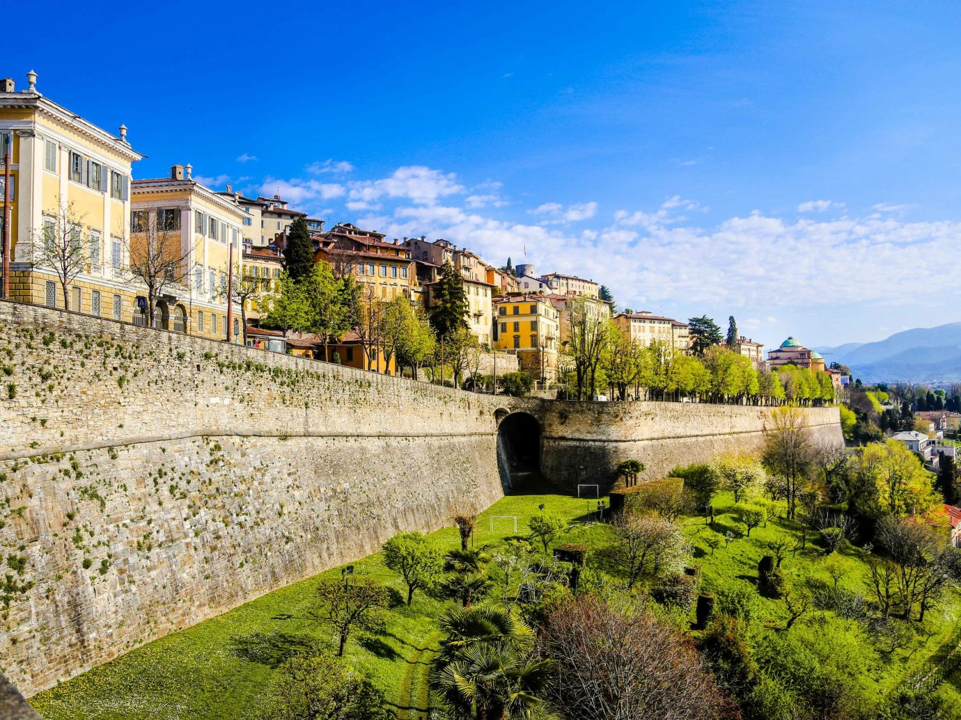 europe Italy Off-the-beaten Path Trip Ideas sky Town water City wall tree historic site plant Village estate real estate building landscape Villa facade tourism mountain