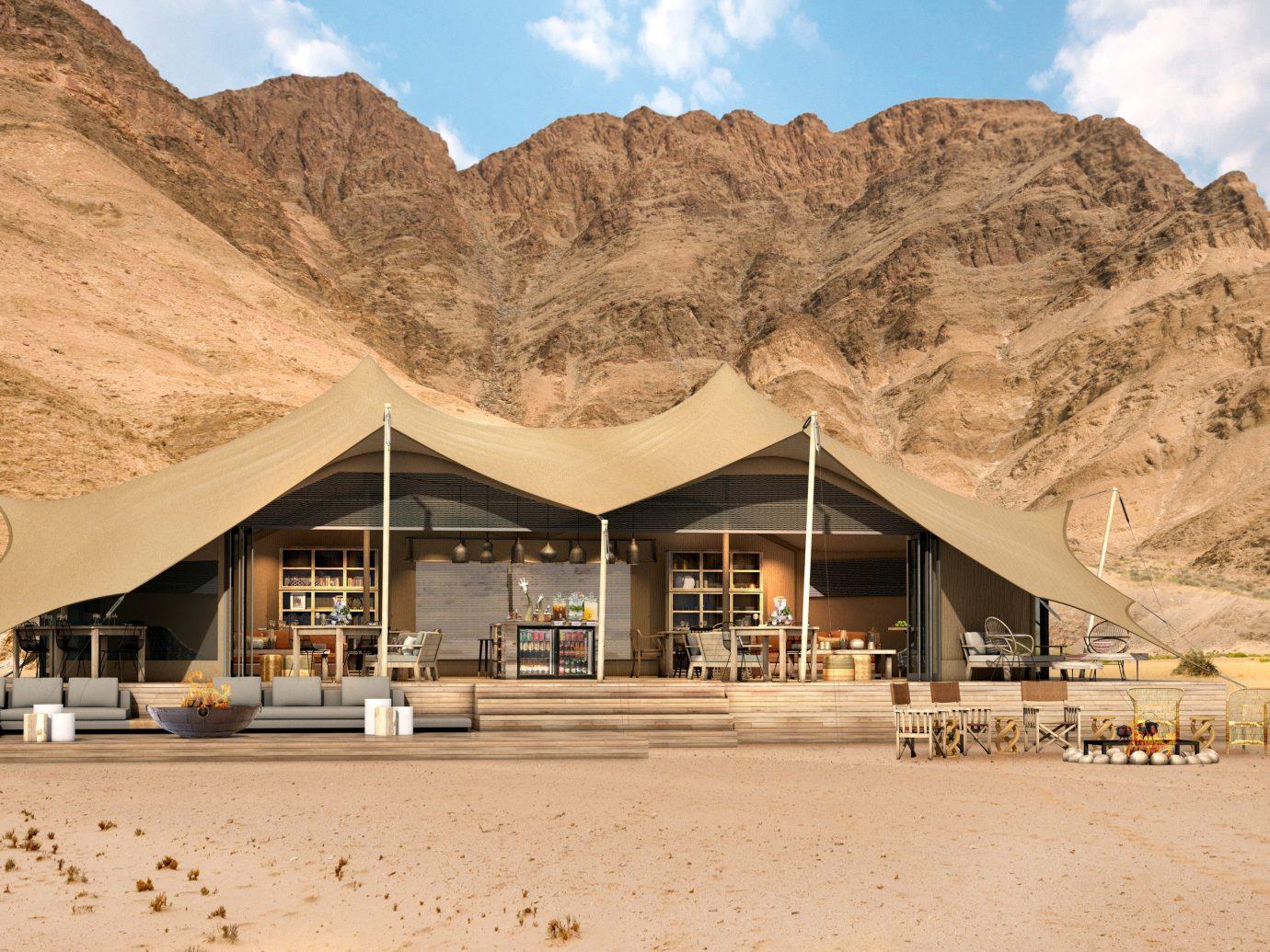africa Honeymoon Namibia Romance Trip Ideas landscape sand aeolian landform sky home mountain real estate elevation tourism vacation
