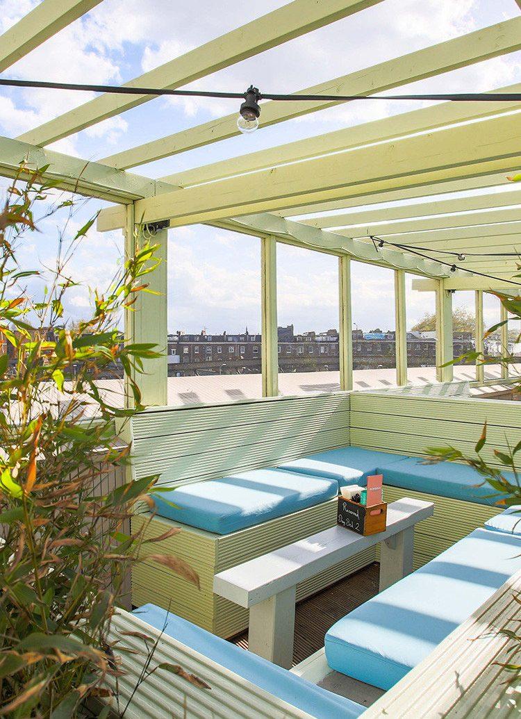 daylighting real estate outdoor structure roof swimming pool outdoor furniture pergola leisure condominium