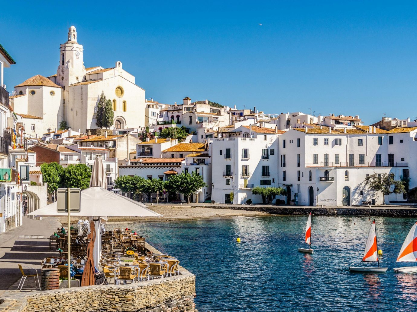 europe Outdoors + Adventure Trip Ideas waterway water Town sky City Sea tourism Harbor Boat watercraft Coast vacation building marina Canal