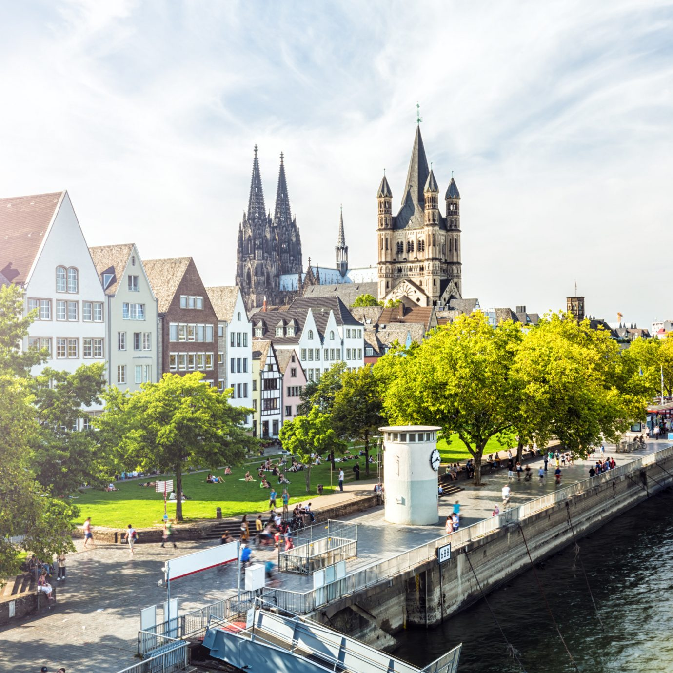 Berlin Germany Munich Trip Ideas waterway body of water water City Canal sky tree River tourist attraction building plant plaza tours bank