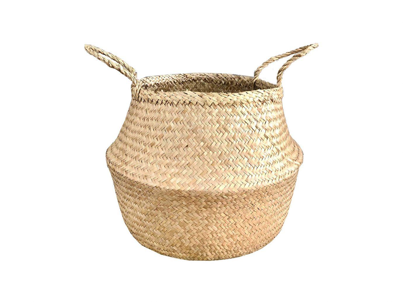 Bambiso Woven Seagrass Basket