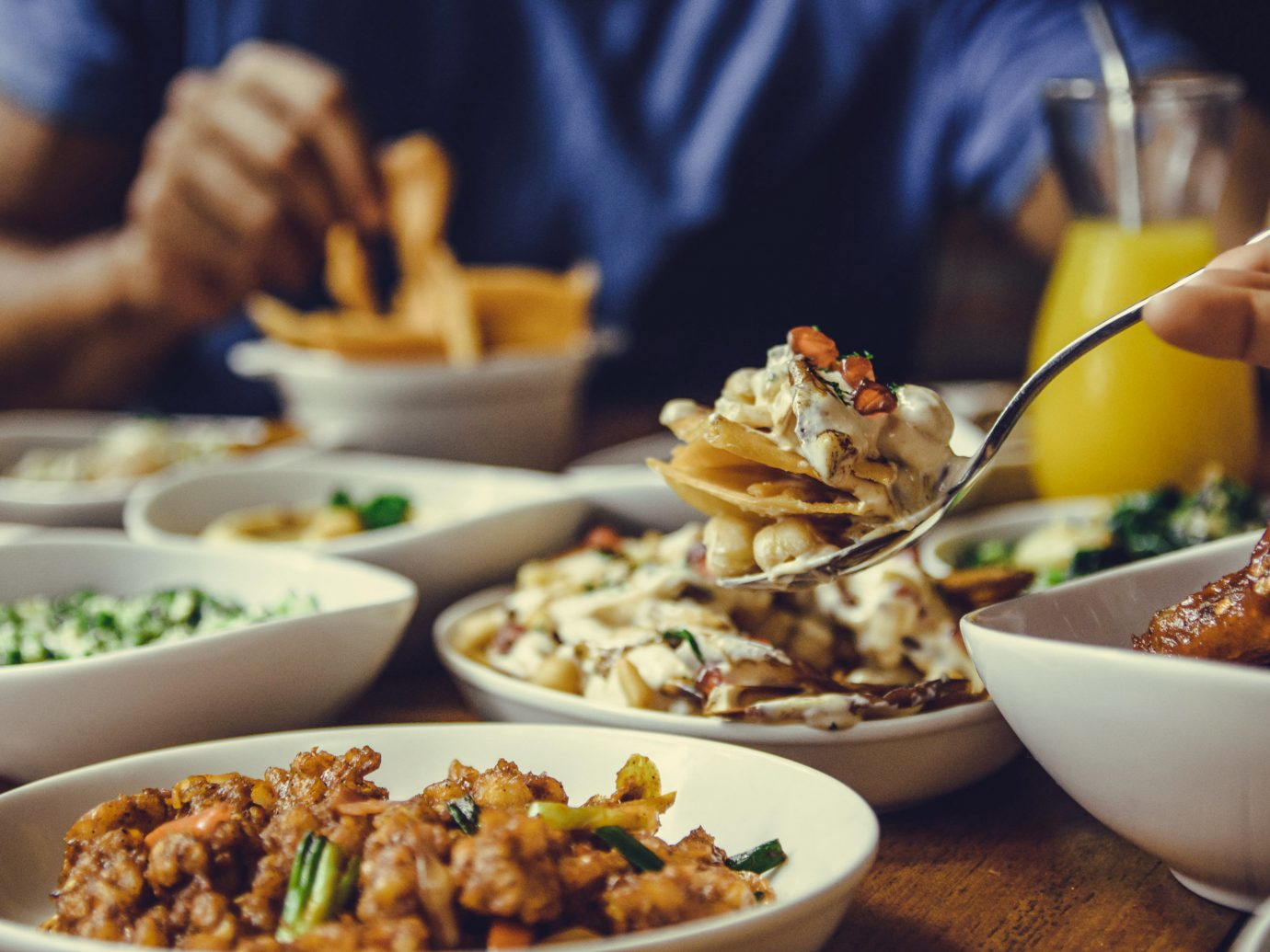 August by Mama Aida's food colombo meal social