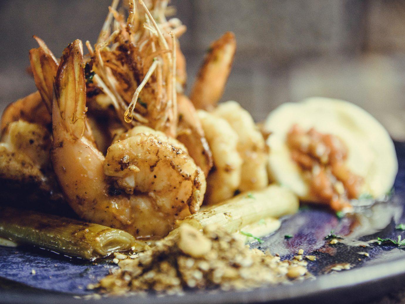 August by Mama Aida's food colombo meal social shrimp