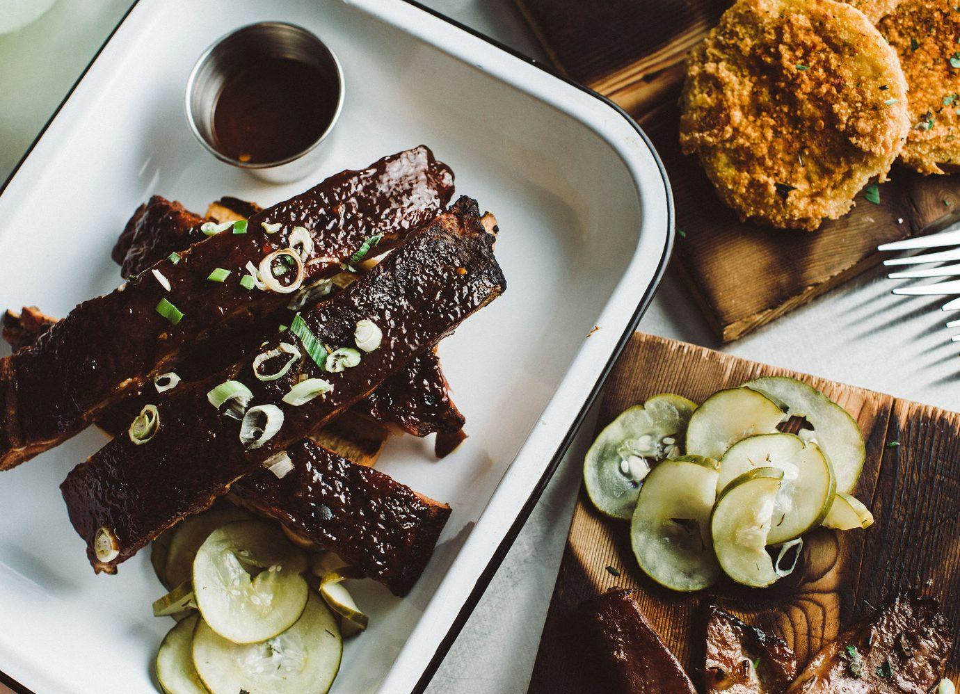 Gilbert's Underground Kitchen ribs