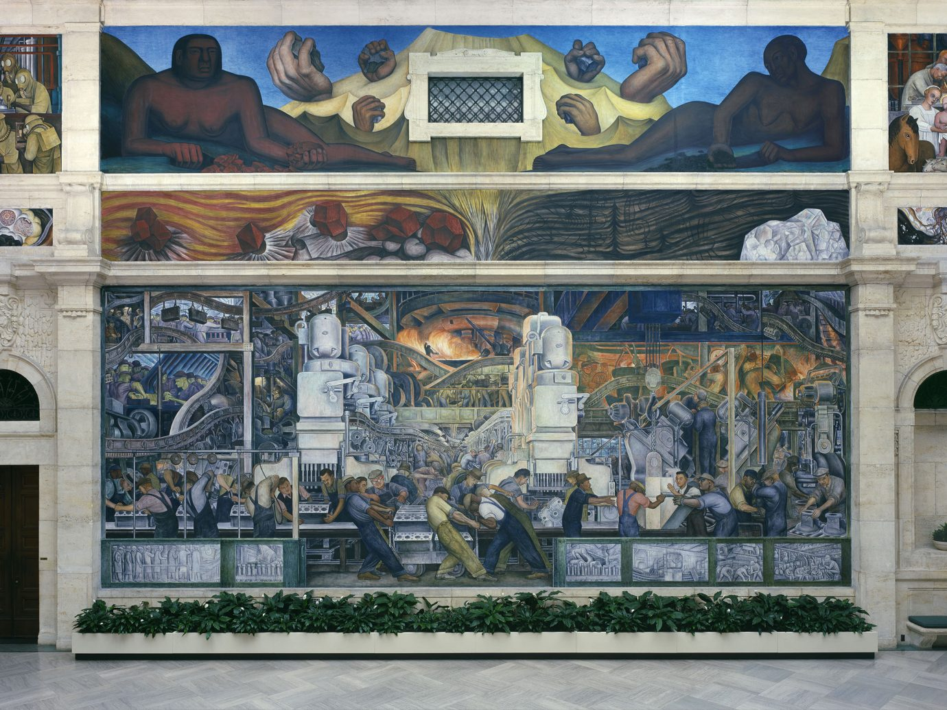 Detroit Influencers + Tastemakers Trip Ideas mural art facade tourist attraction artwork painting window building