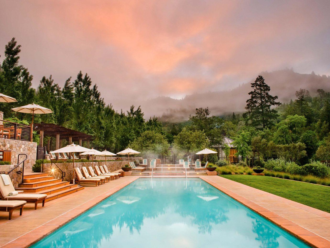 Calistoga Ranch Pool