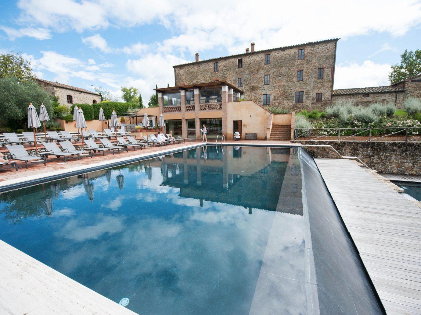 europe Hotels Italy Romance sky outdoor swimming pool property estate house vacation reflecting pool Villa backyard waterway Resort