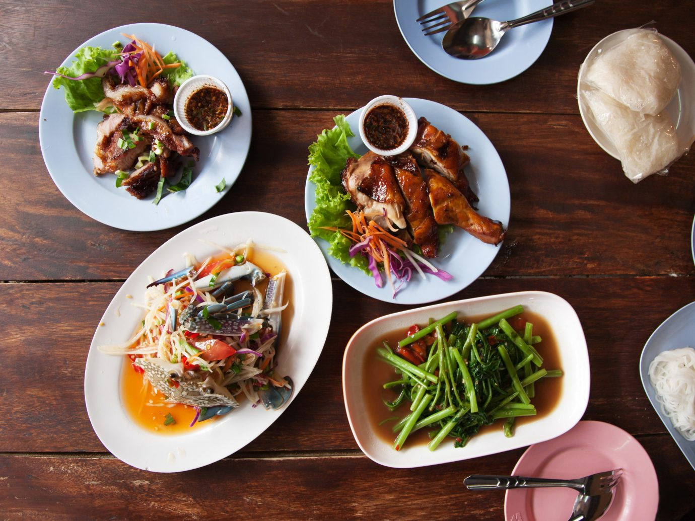 Detroit Influencers + Tastemakers Trip Ideas food table plate meal dish lunch cuisine brunch appetizer different asian food vegetarian food thai food breakfast Seafood plate lunch recipe meze southeast asian food side dish vegetable meat several piece de resistance