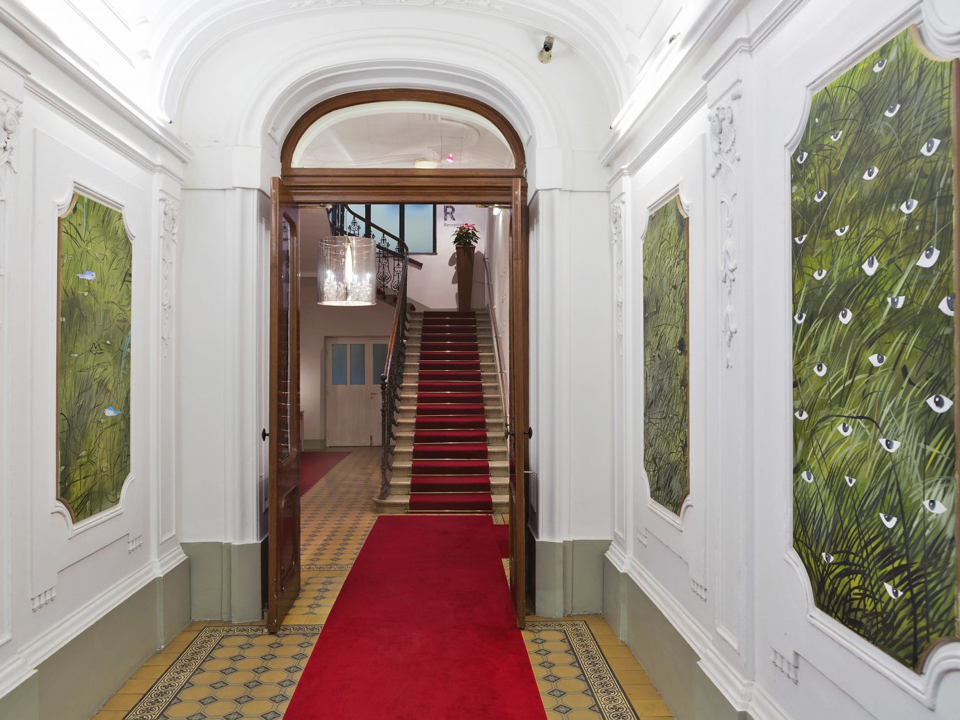 Austria europe Hotels Vienna property Architecture ceiling interior design estate real estate window home house Lobby apartment hall daylighting door facade