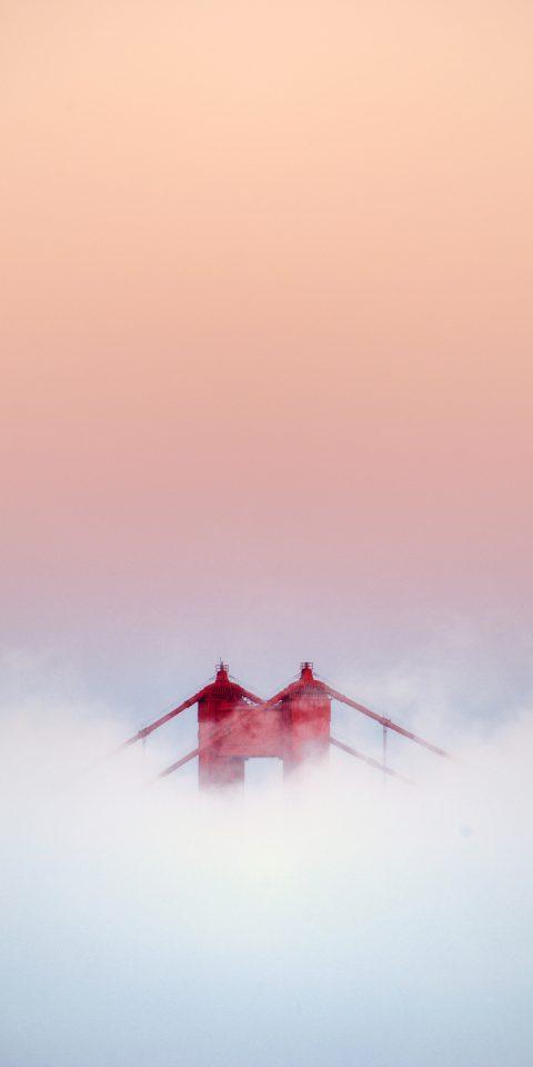 Golden Gate Bridge fog