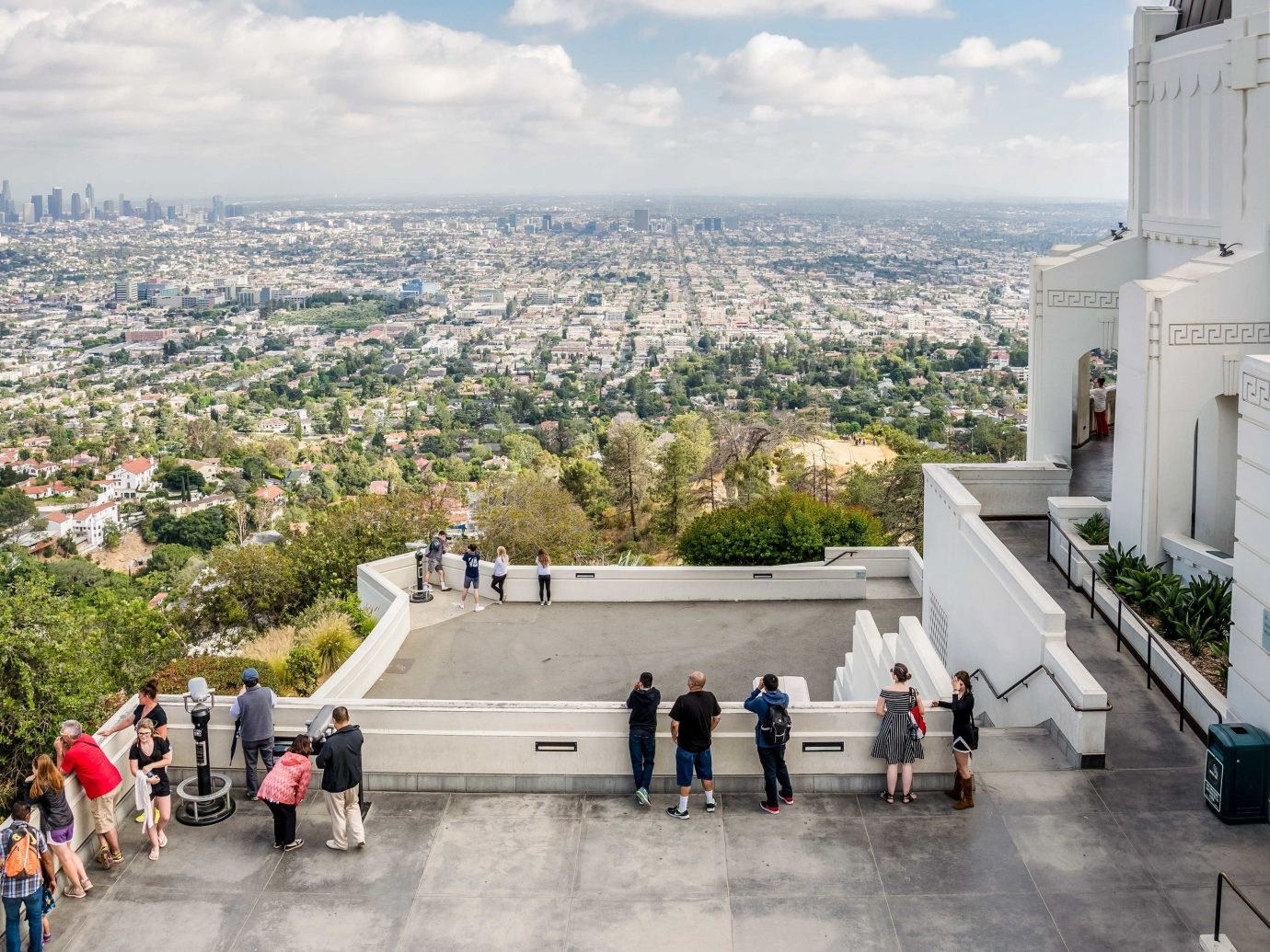 Griffith Observatory overlooking California