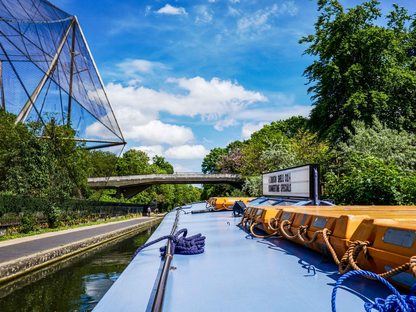 London Shell river canal ship travel boat