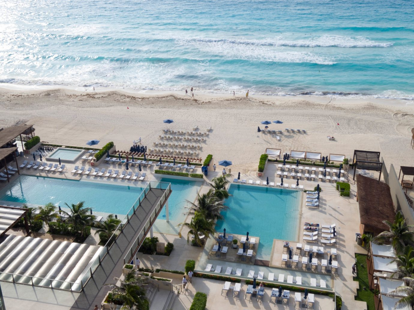 Adult-only All-Inclusive Resorts Cancun Hotels Mexico outdoor water leisure vacation Resort marina Sea dock Beach swimming pool shore