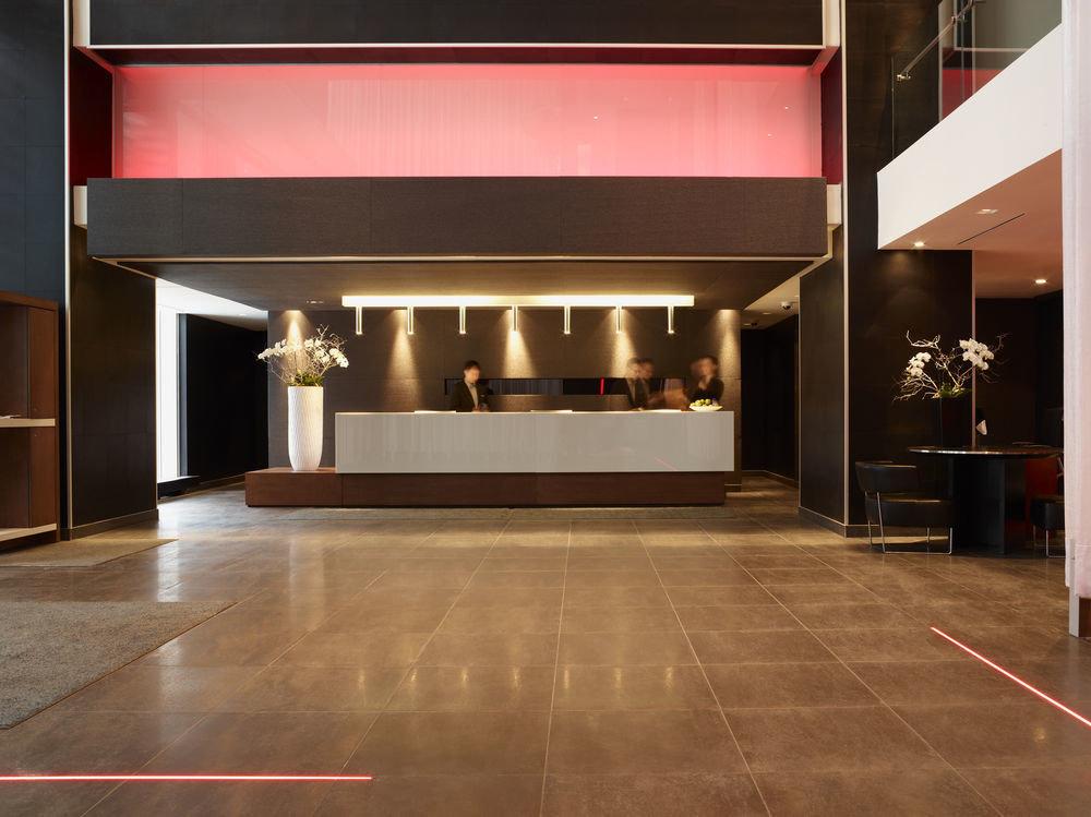 Canada Hotels Toronto indoor floor Lobby building property flooring hardwood interior design wood flooring wood Design living room ceiling
