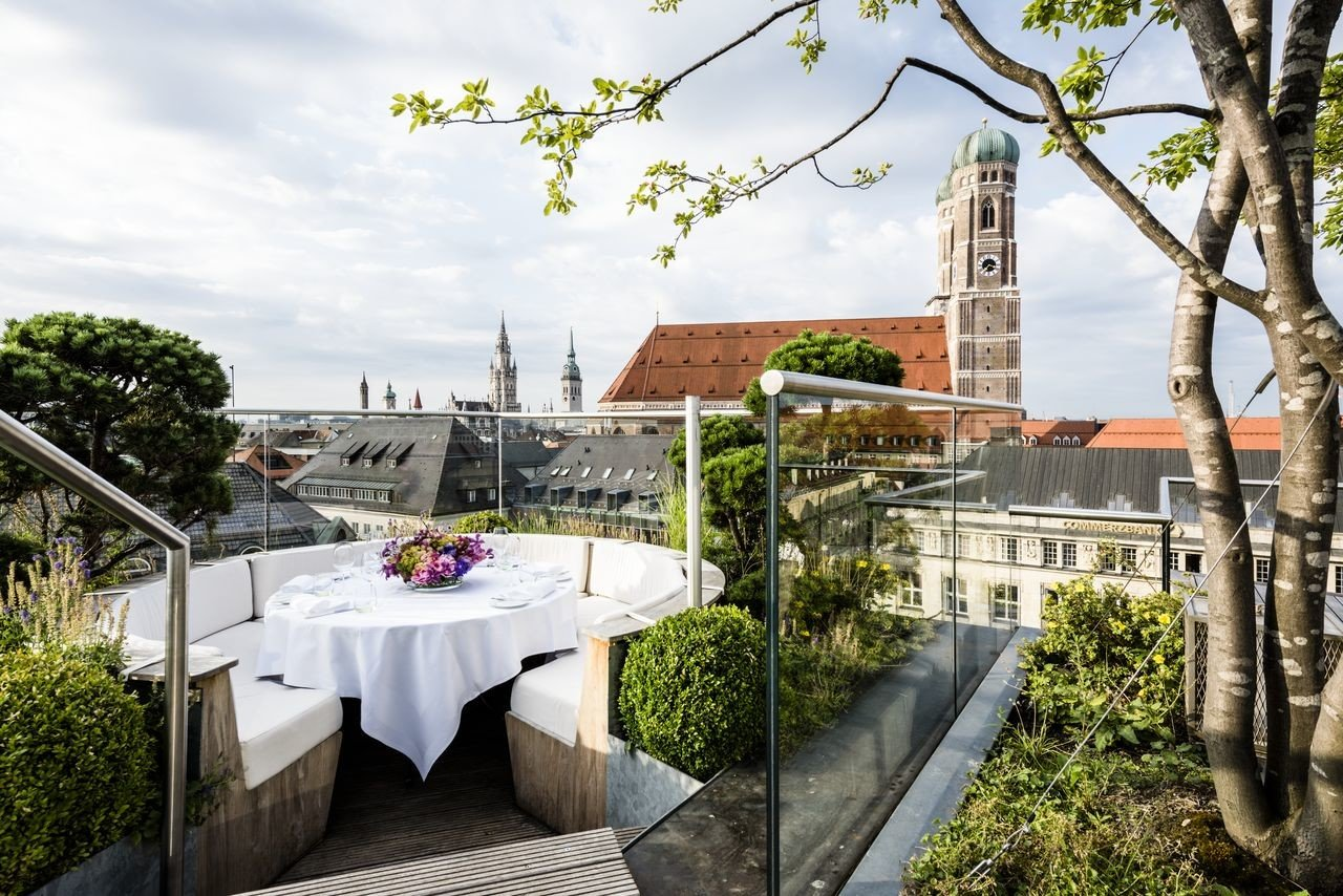 europe Germany Hotels Munich plant tree outdoor structure real estate roof house cottage