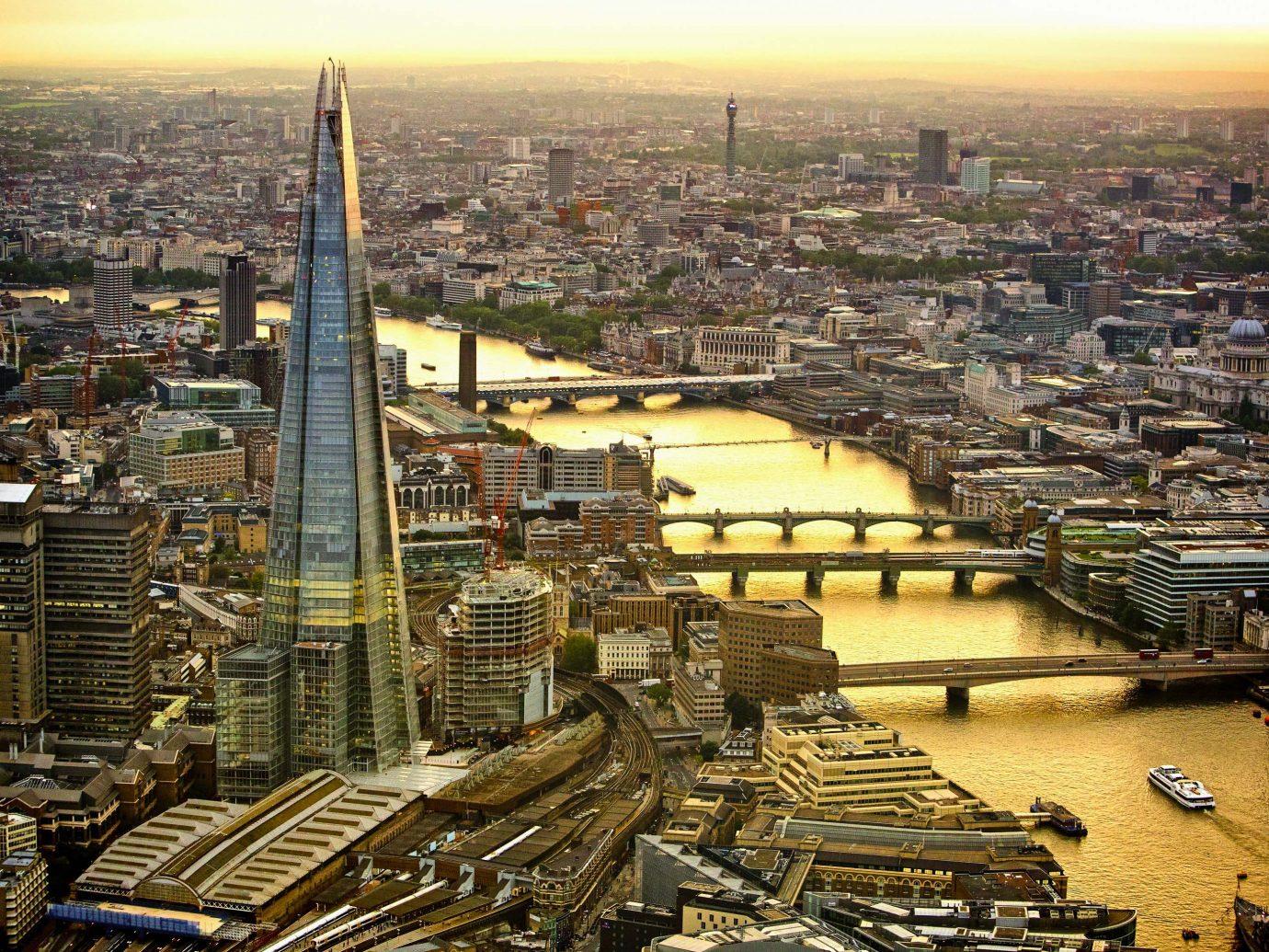 London UK skyline