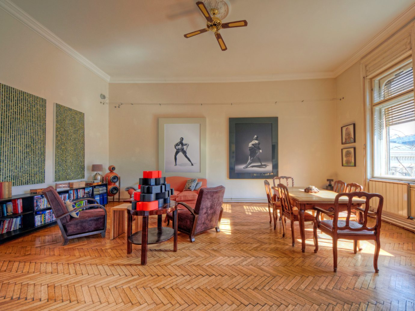 Budapest Cultural Design europe Hotels Hungary Living Lounge Modern Rustic indoor wall floor ceiling room property chair dining room estate furniture real estate hardwood home living room cottage Dining Villa interior design wooden farmhouse wood flooring apartment Resort wood decorated several