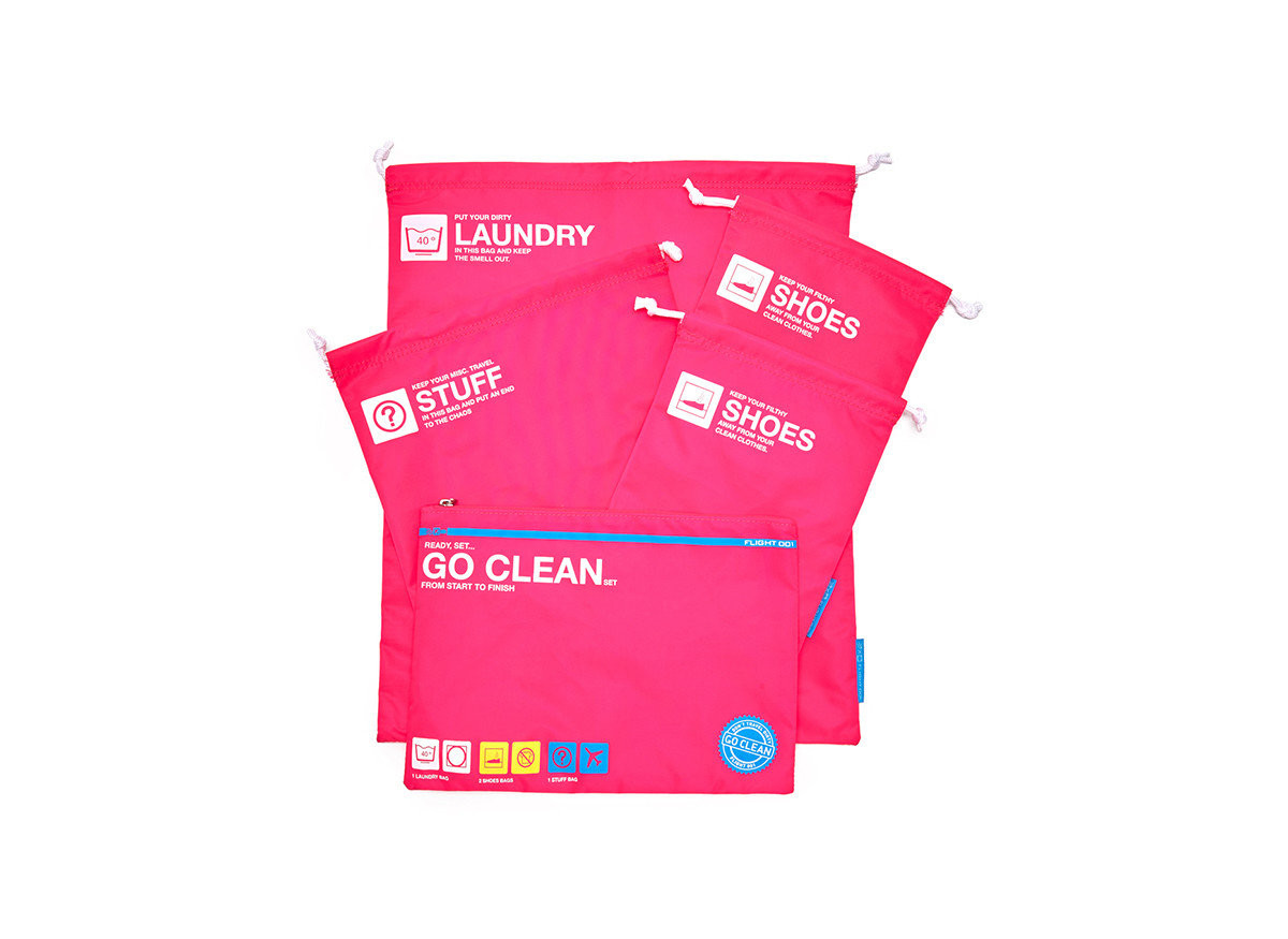 Travel Shop Travel Tech red pink magenta product font brand