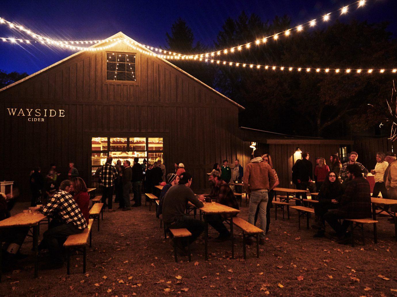 Romance Trip Ideas Weekend Getaways night lighting evening restaurant ceremony event darkness