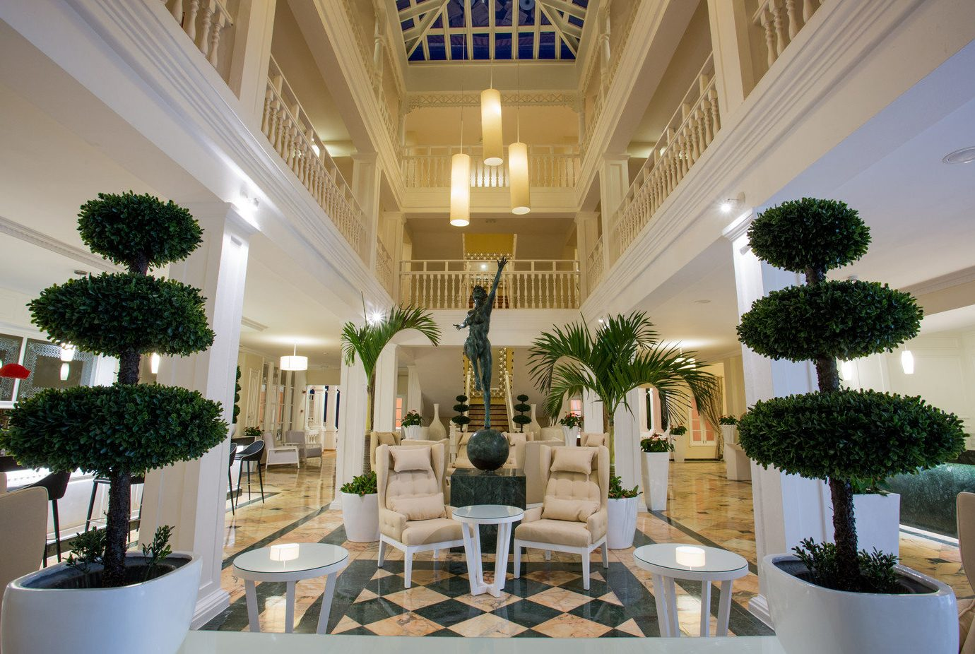 All-Inclusive Resorts Budget caribbean Hotels Lobby interior design function hall decorated ceiling plant floristry estate flower furniture several