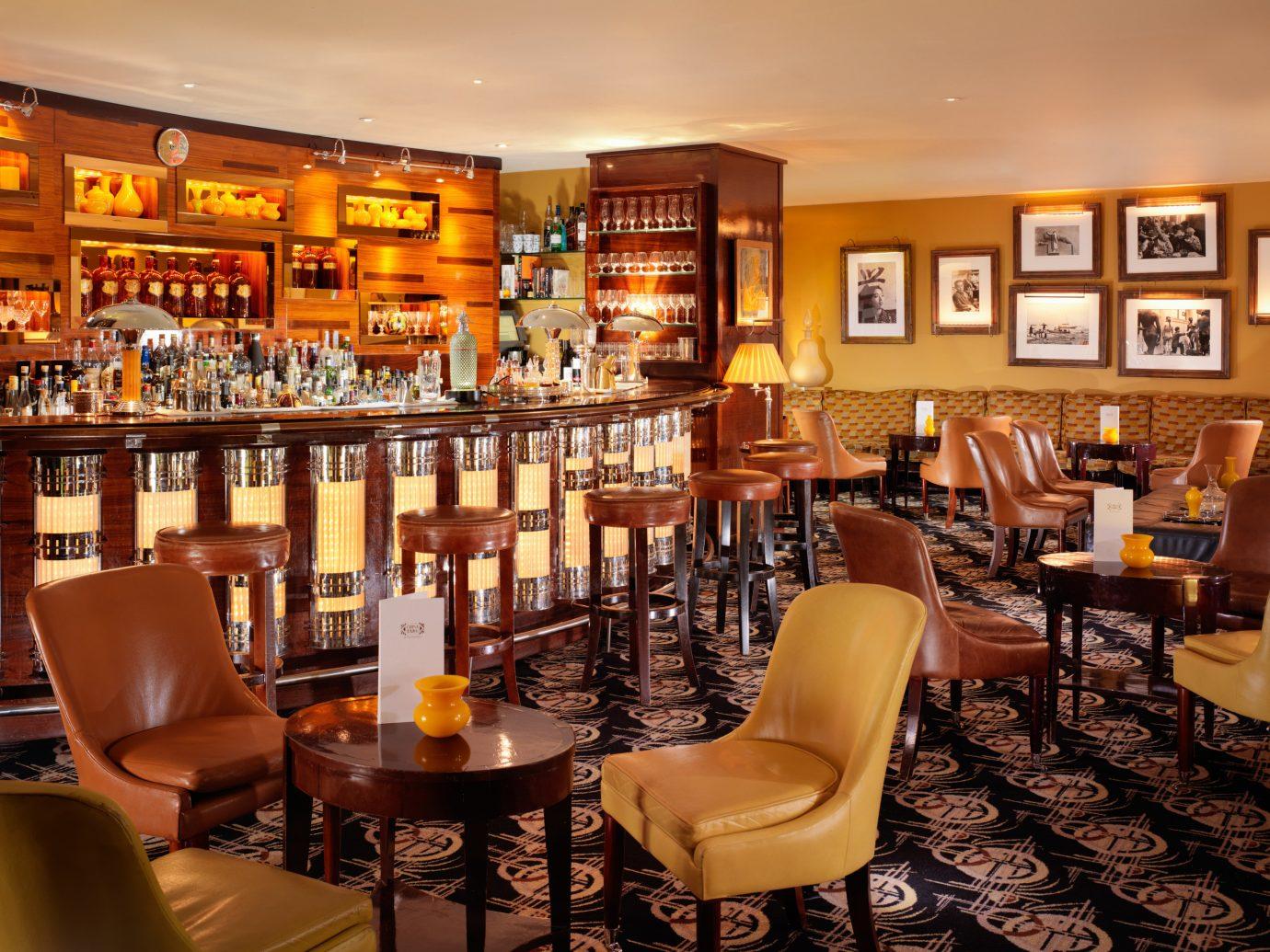 Bar at China Tang in Mayfair, London