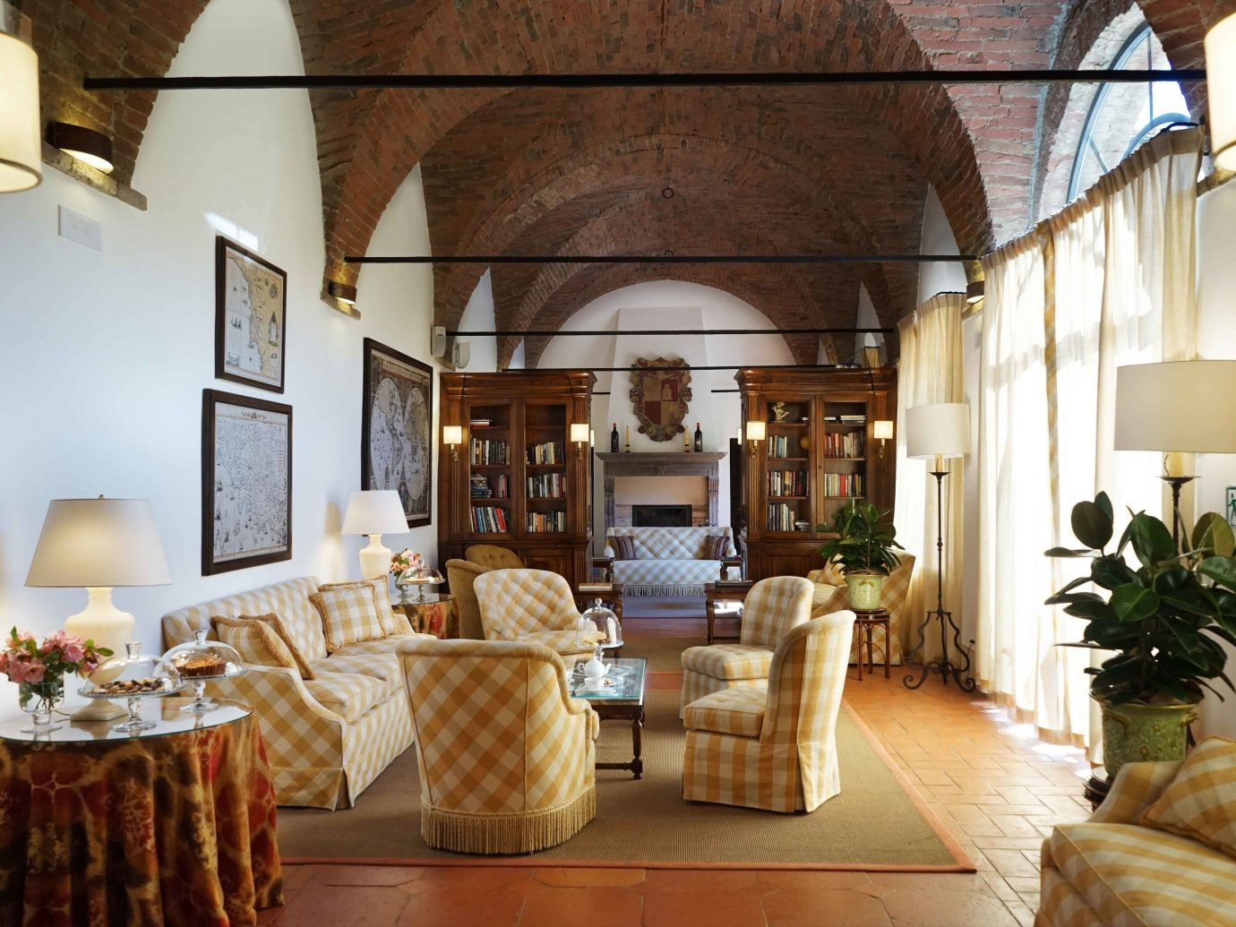 europe Hotels Italy Romance indoor Living room floor interior design furniture living room Fireplace ceiling home estate area decorated