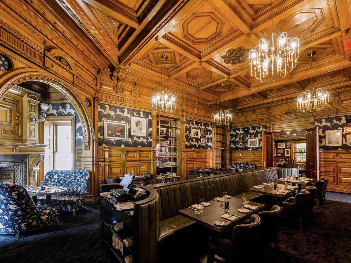 Boutique Hotels Chicago Hotels indoor ceiling room interior design furniture estate several dining room