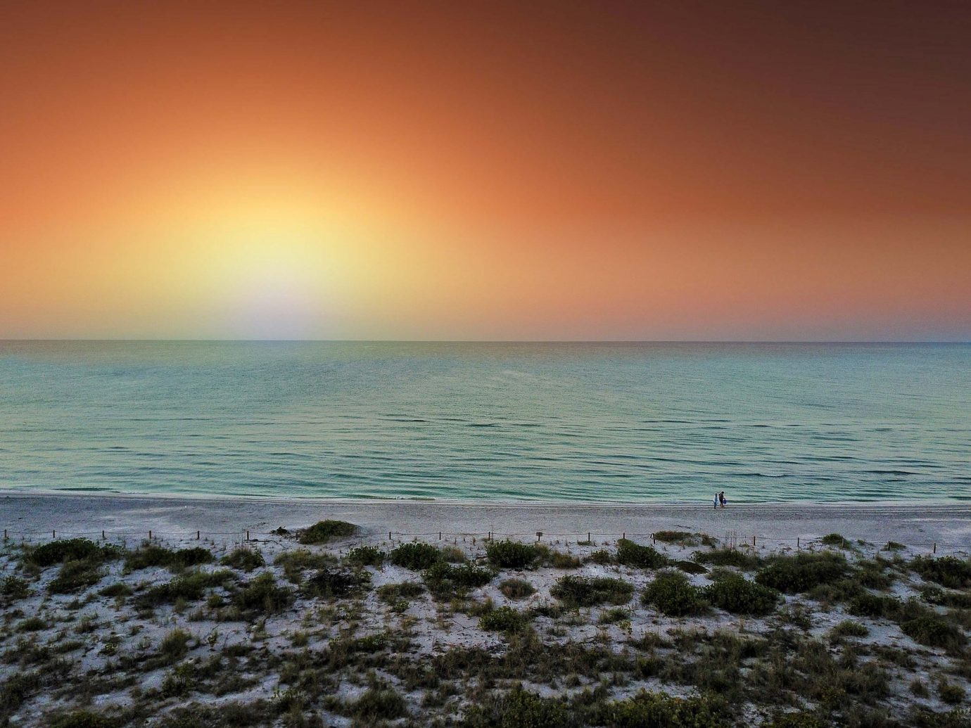 Sanibel beach sunset