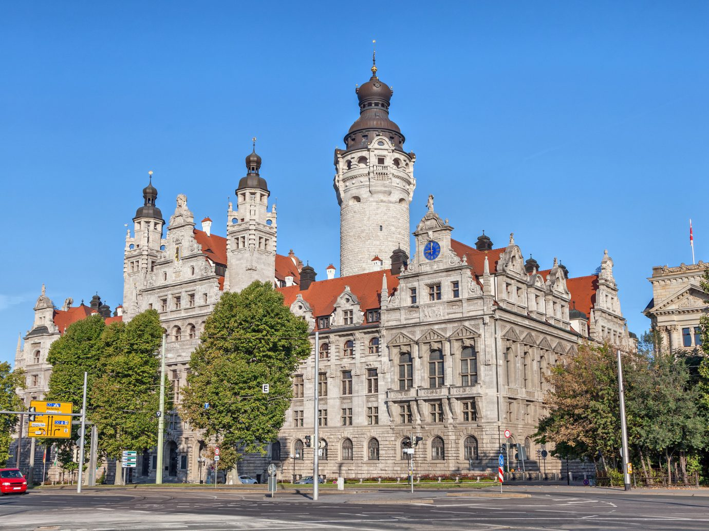 Berlin Germany Munich Trip Ideas landmark sky Town City château building urban area daytime plaza palace tree metropolis town square tourist attraction stately home metropolitan area facade Downtown estate seat of local government castle tours house medieval architecture tower tourism