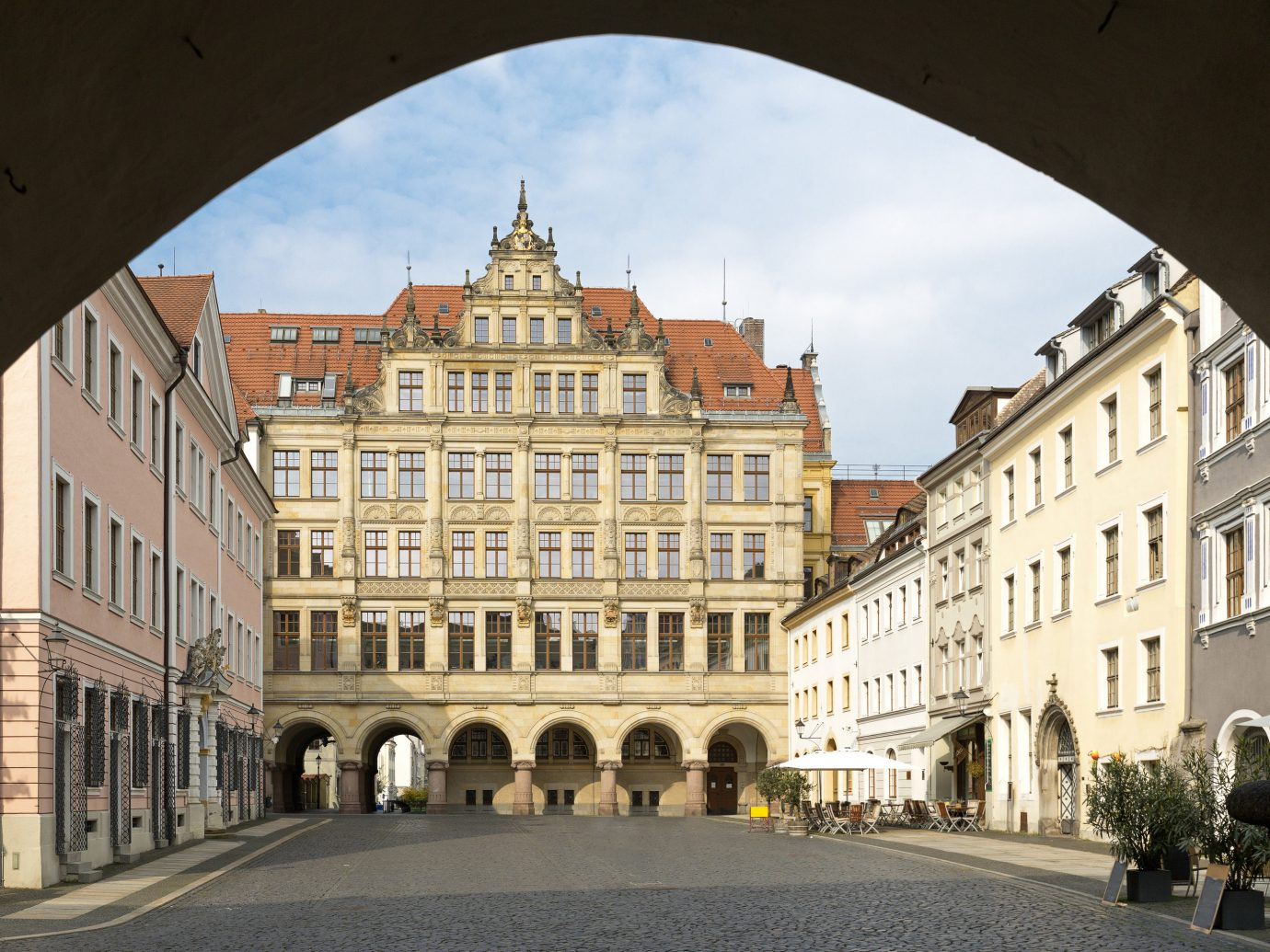 Berlin europe Germany Trip Ideas Town landmark building town square plaza château City sky medieval architecture arch classical architecture facade metropolis neighbourhood window metropolitan area street palace history Downtown arcade seat of local government historic site tourism