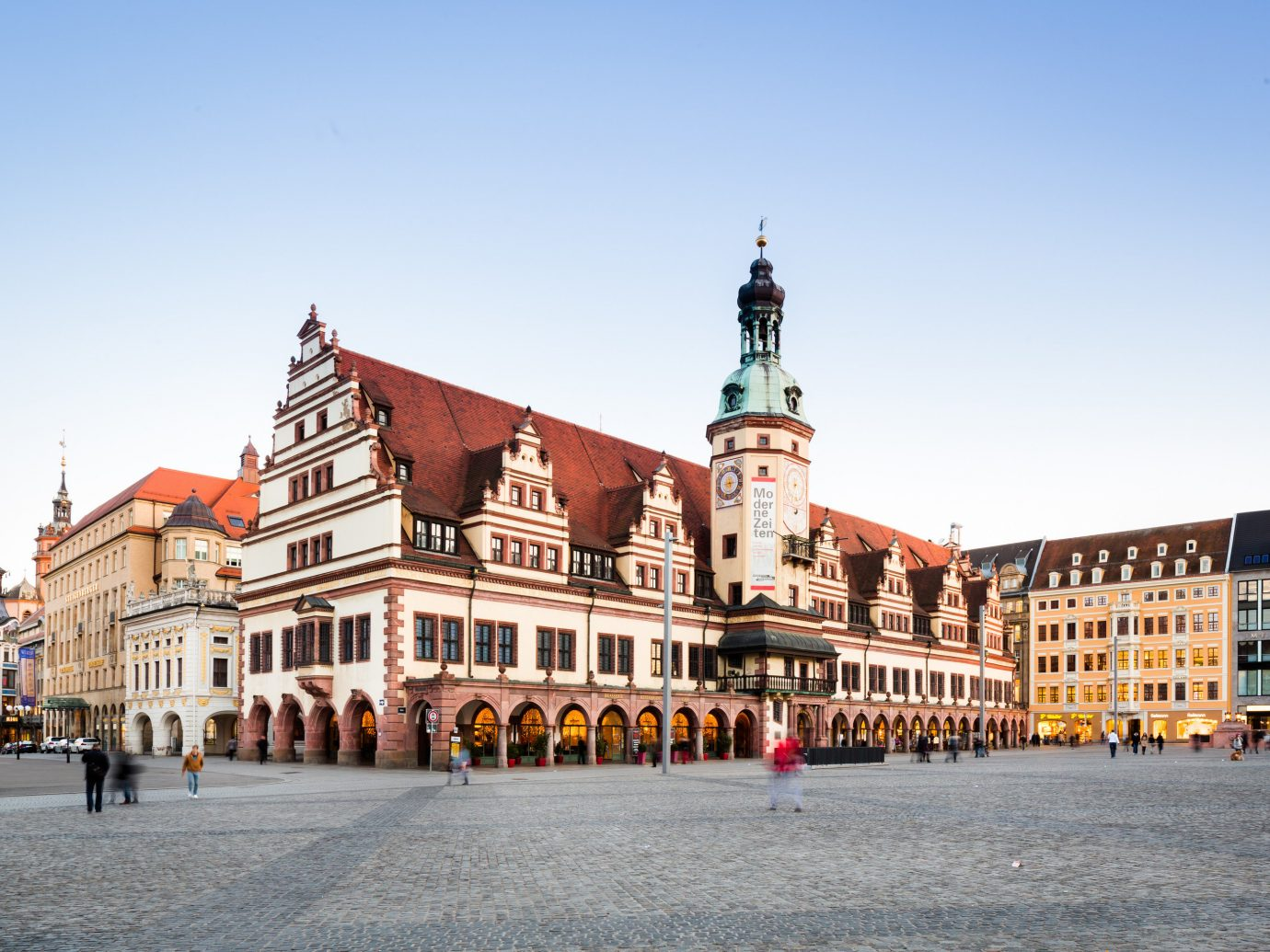 Berlin Germany Munich Trip Ideas town square Town landmark City sky plaza urban area building metropolis tourism facade Downtown palace seat of local government château street evening