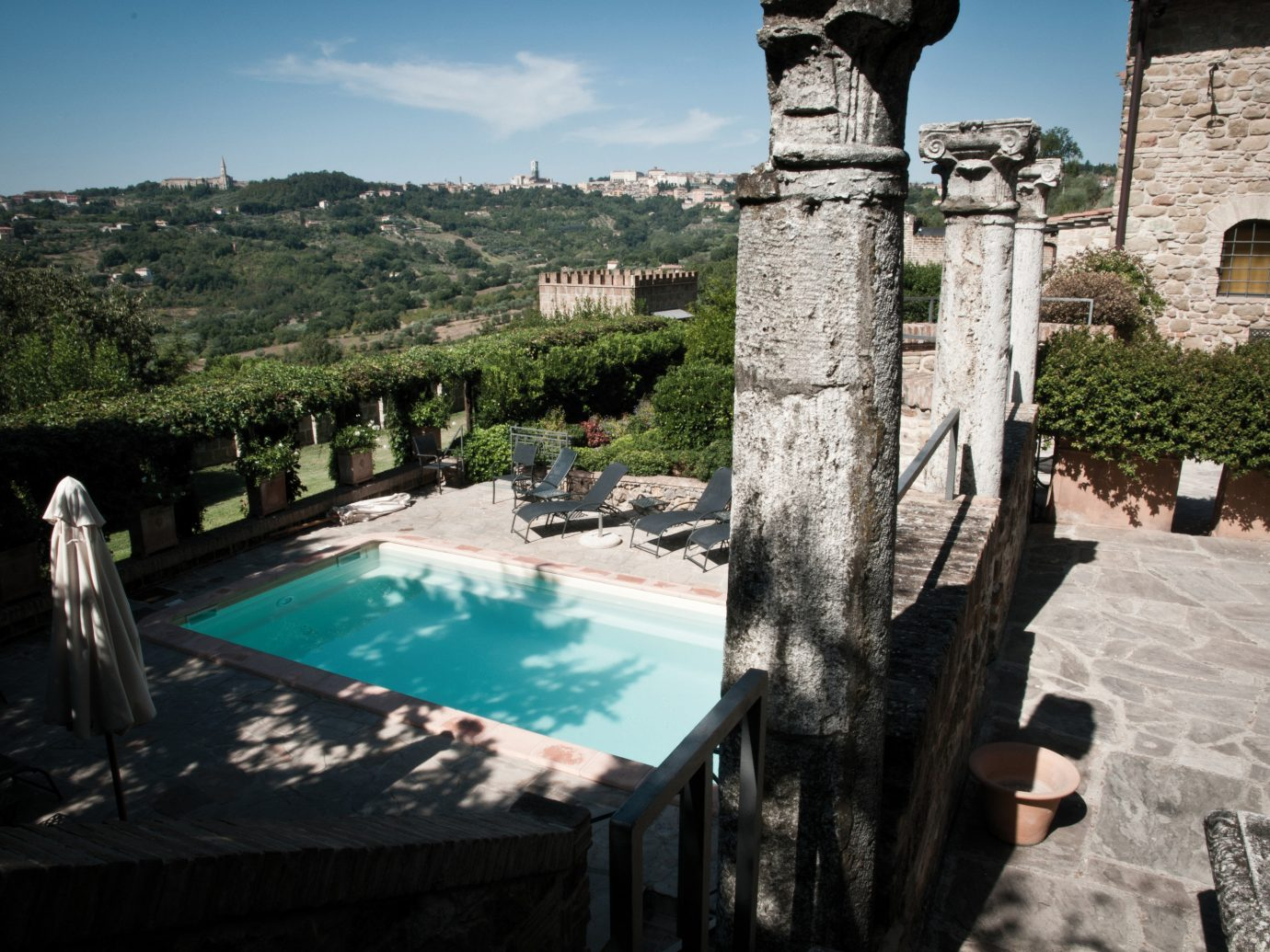 europe Hotels Italy Romance sky water swimming pool tourism historic site Villa estate tree archaeological site travel building hacienda ancient history