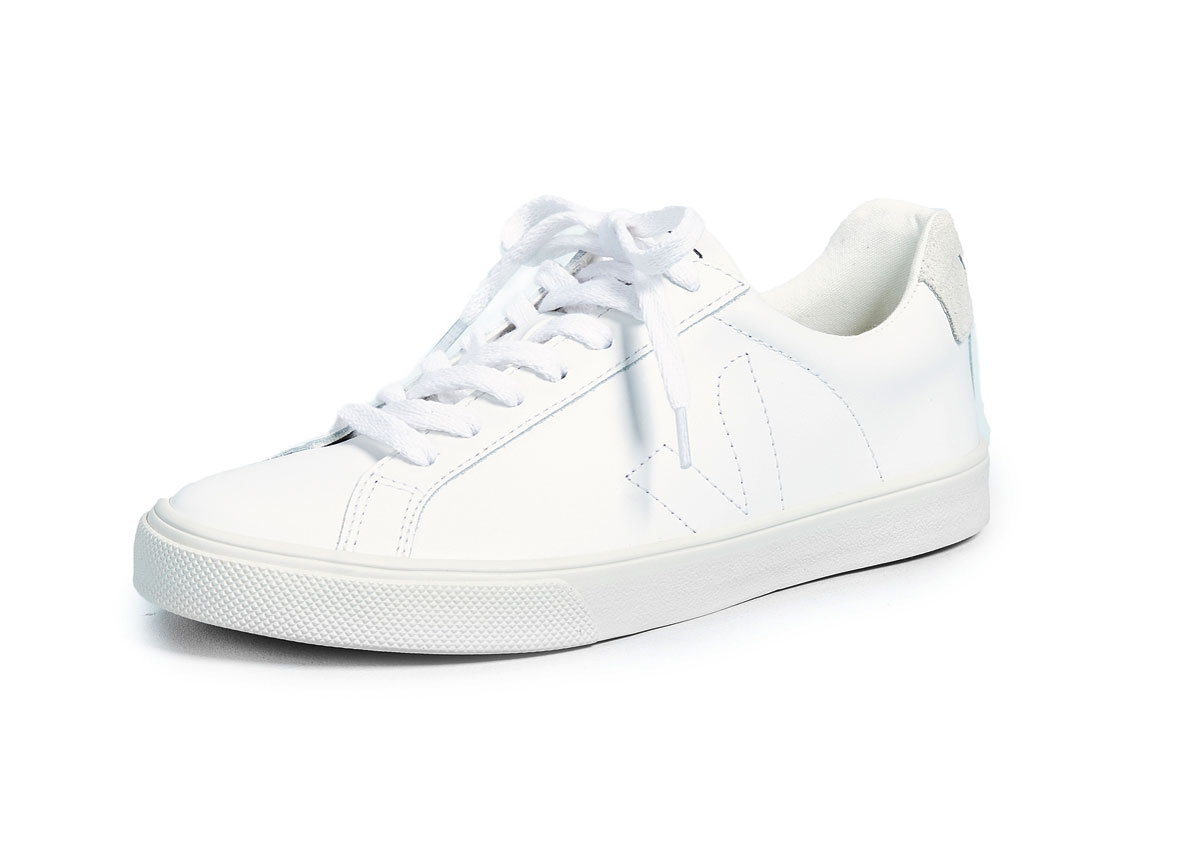 Veja Esplar Leather Low-Top Sneakers