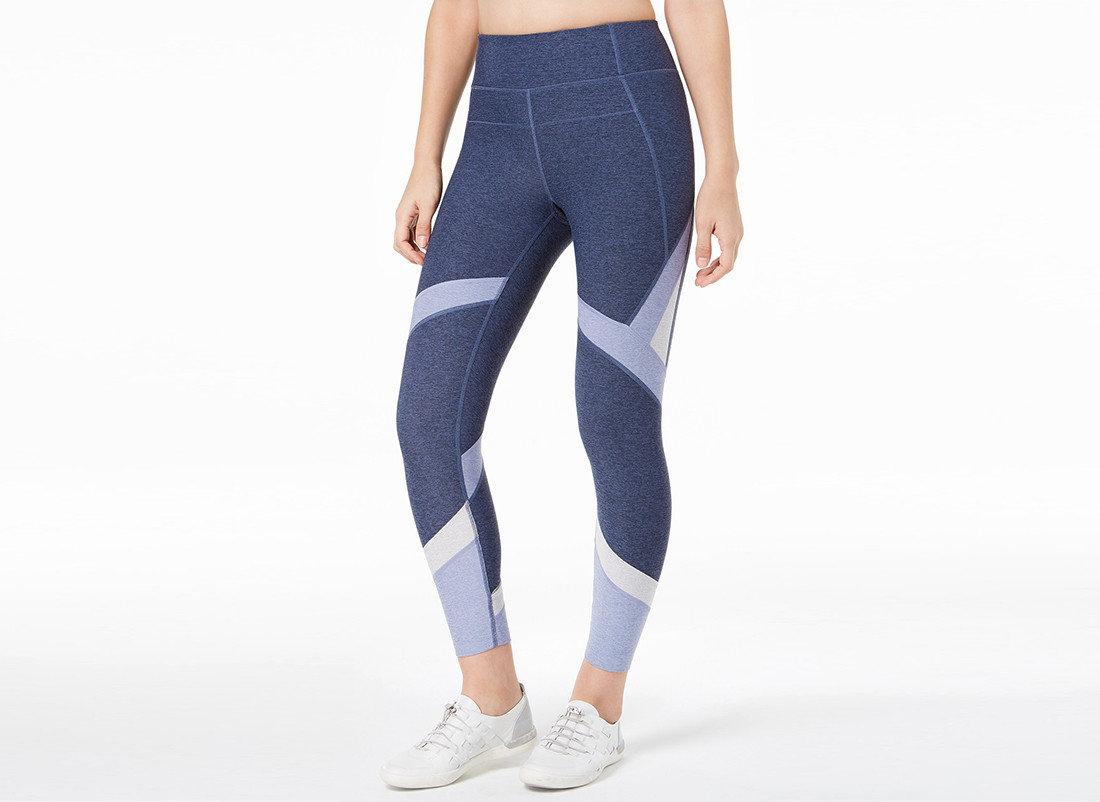 Style + Design Travel Shop person clothing tights leggings waist active undergarment human leg joint electric blue trousers posing abdomen active pants trouser