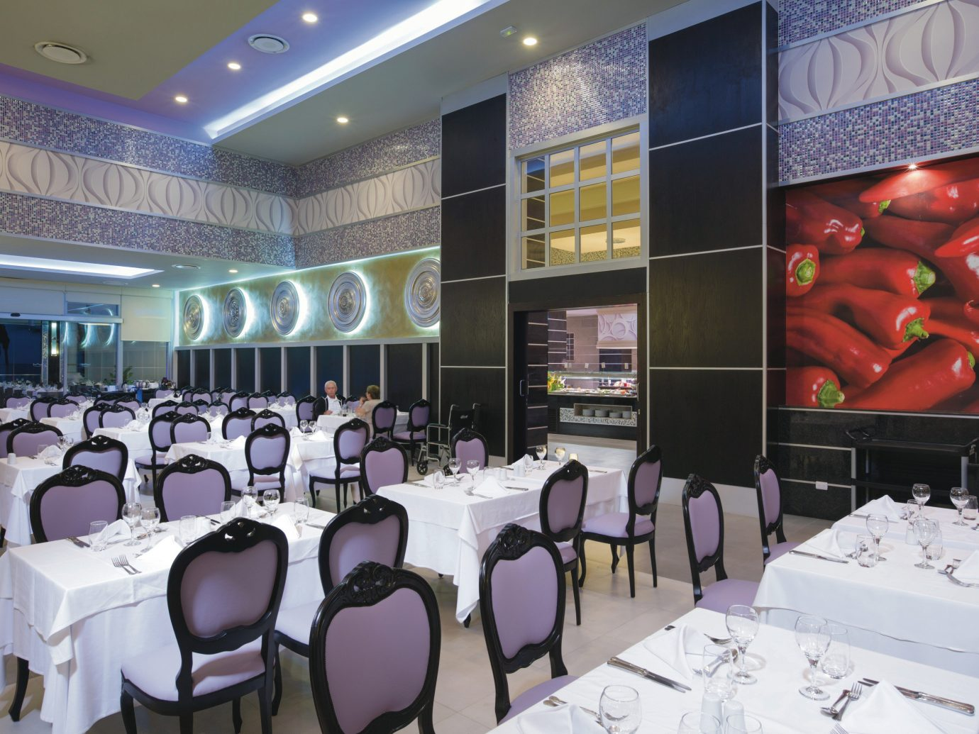 Adult-only All-Inclusive Resorts Cancun Hotels Mexico function hall indoor restaurant interior design conference hall dining table several dining room