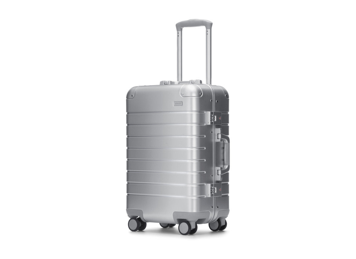 suitcase product metal product design luggage & bags hand luggage cylinder