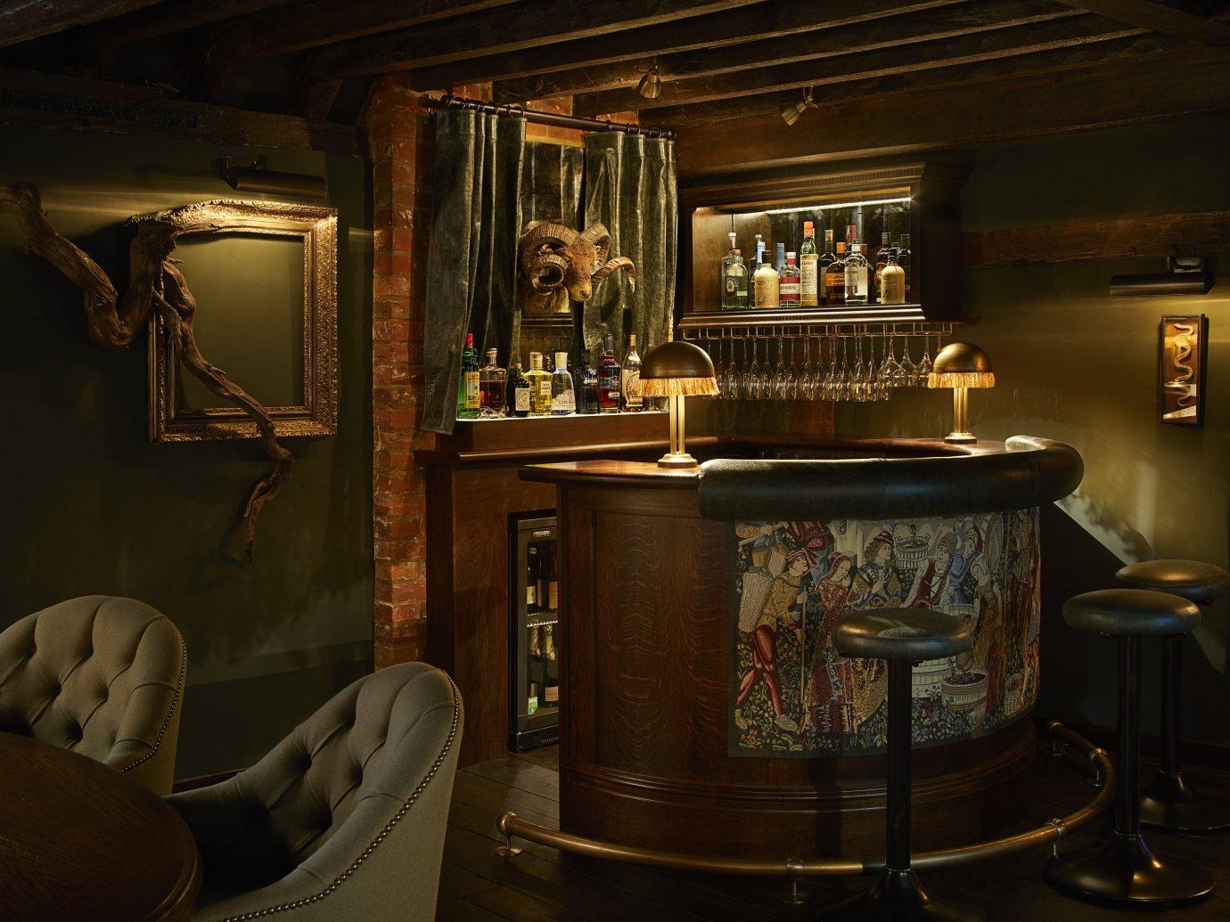 England europe London Trip Ideas indoor ceiling interior design furniture Bar table antique restaurant