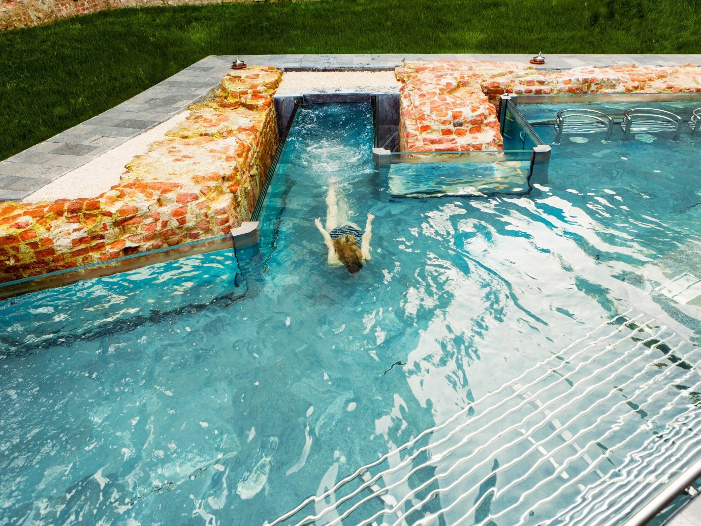 Arts + Culture Italy Milan water swimming pool leisure water feature water resources recreation vacation amenity