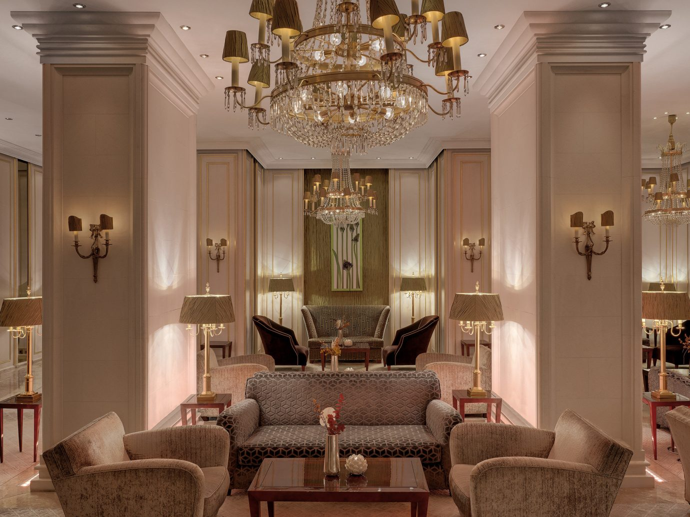 europe Germany Hotels Munich indoor wall room floor living room chair interior design ceiling Living Lobby home furniture dining room window interior designer decorated area