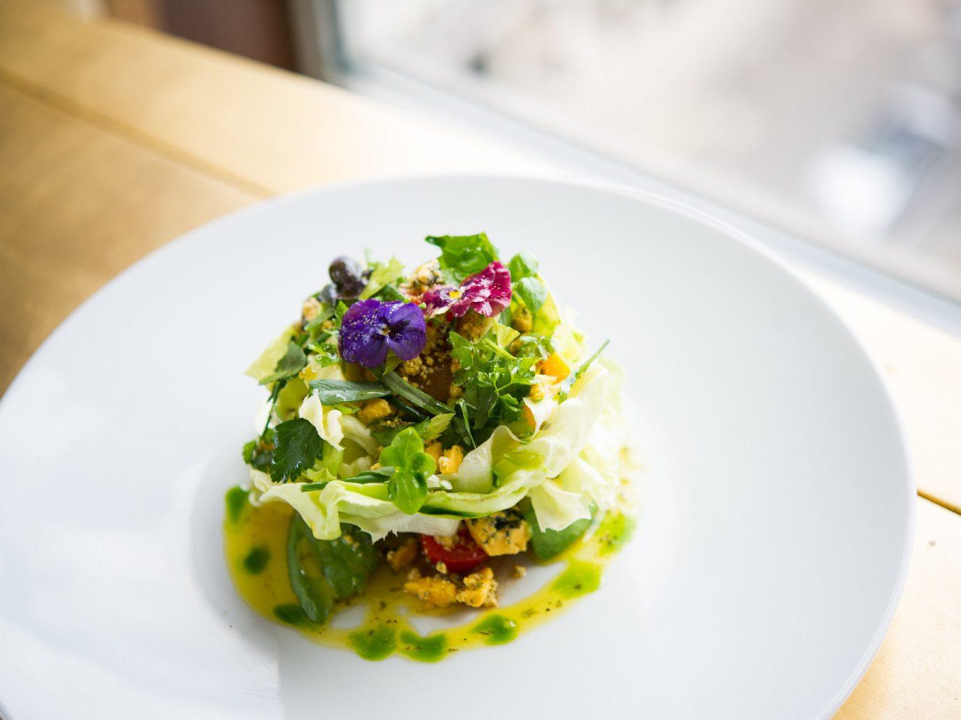 Salad at CUT at 45 Park Lane Restaurant in London