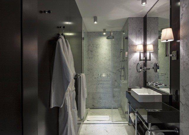 Austria europe Hotels Vienna indoor wall room bathroom interior design plumbing fixture ceiling public toilet sink toilet rack