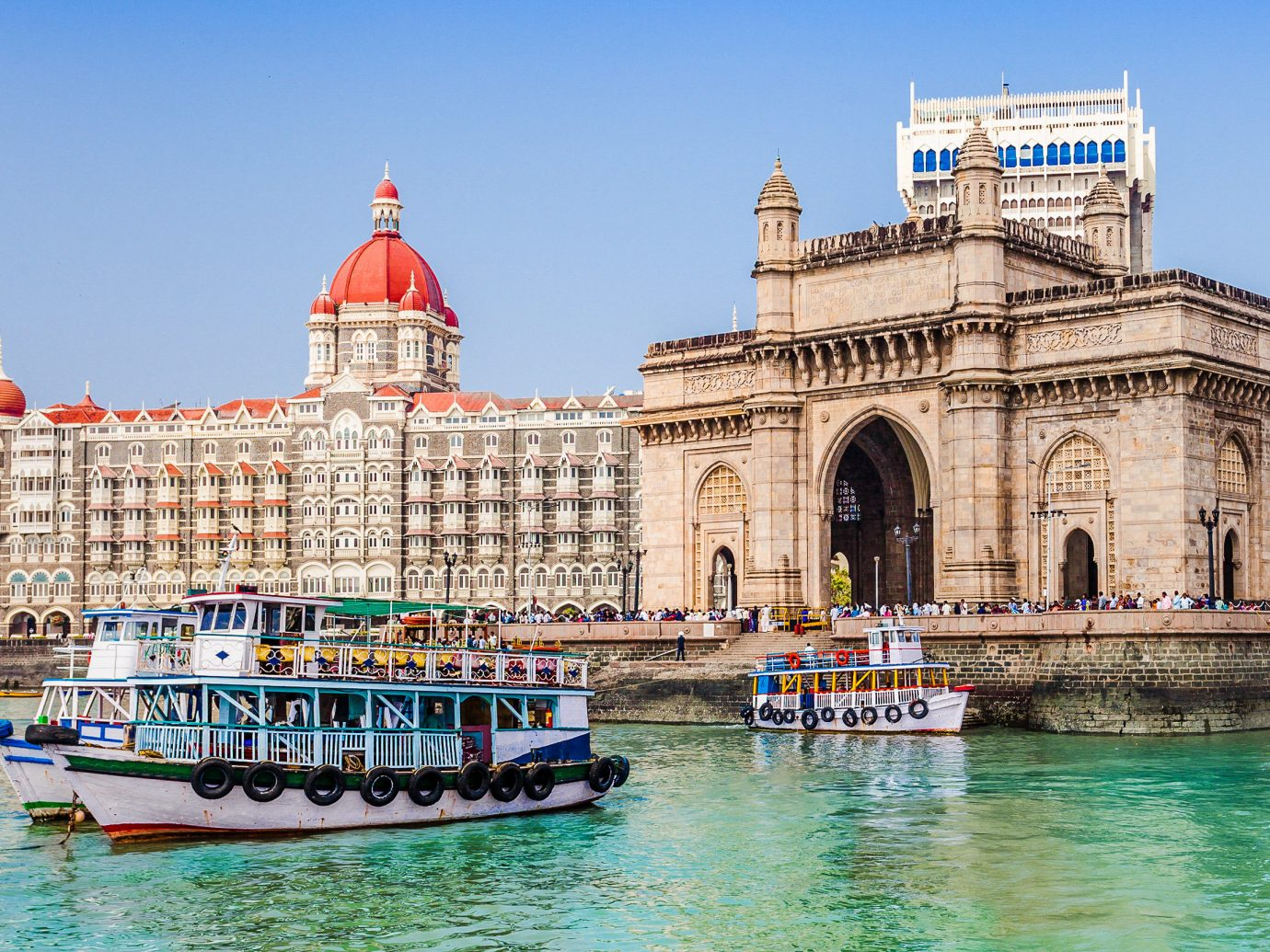 India waterway landmark water transportation tourist attraction sky palace water tourism City reflection Sea building River cityscape