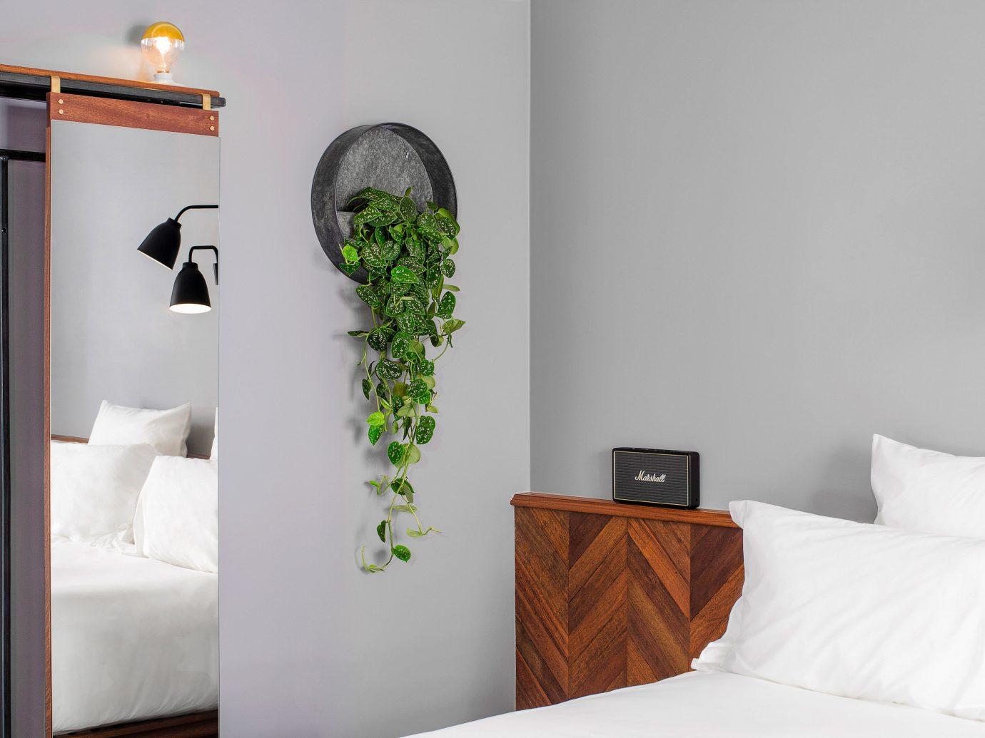 bed wall indoor room pillow furniture interior design Bedroom home shelf hotel Suite bed frame