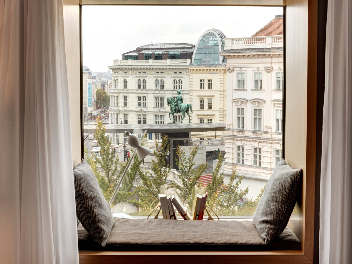 Austria europe Hotels Vienna window cat indoor property home interior design apartment Balcony house picture frame window treatment furniture sash window door facade