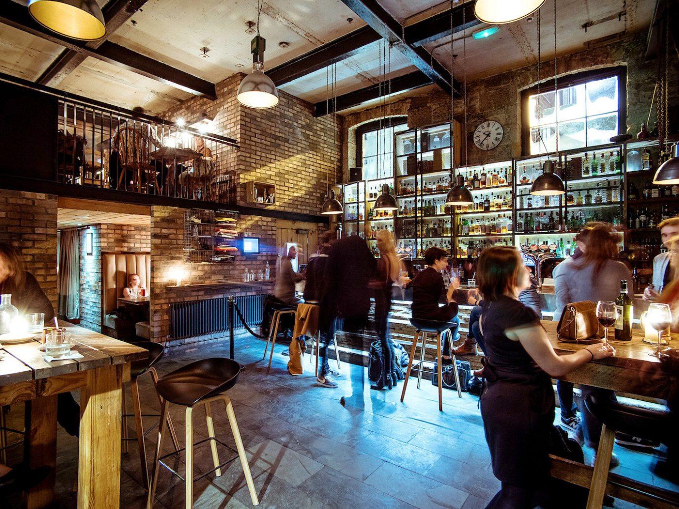 Edinburgh Hotels Jetsetter Guides Scotland Travel Tips Trip Ideas indoor floor person ceiling Bar restaurant tavern pub café interior design coffeehouse meal
