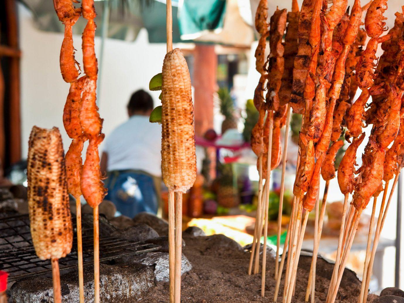 Food + Drink Mexico Puerto Vallarta food grilled food meat skewer street food animal source foods cuisine churrasco food dish grilling finger food