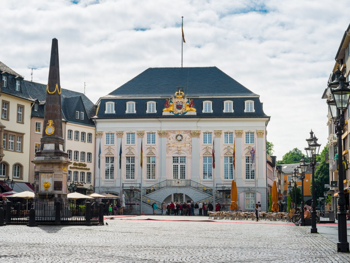 Berlin europe Germany Trip Ideas Town landmark town square City building sky château Downtown metropolis tourist attraction plaza facade street neighbourhood house palace medieval architecture seat of local government window tours tourism classical architecture estate