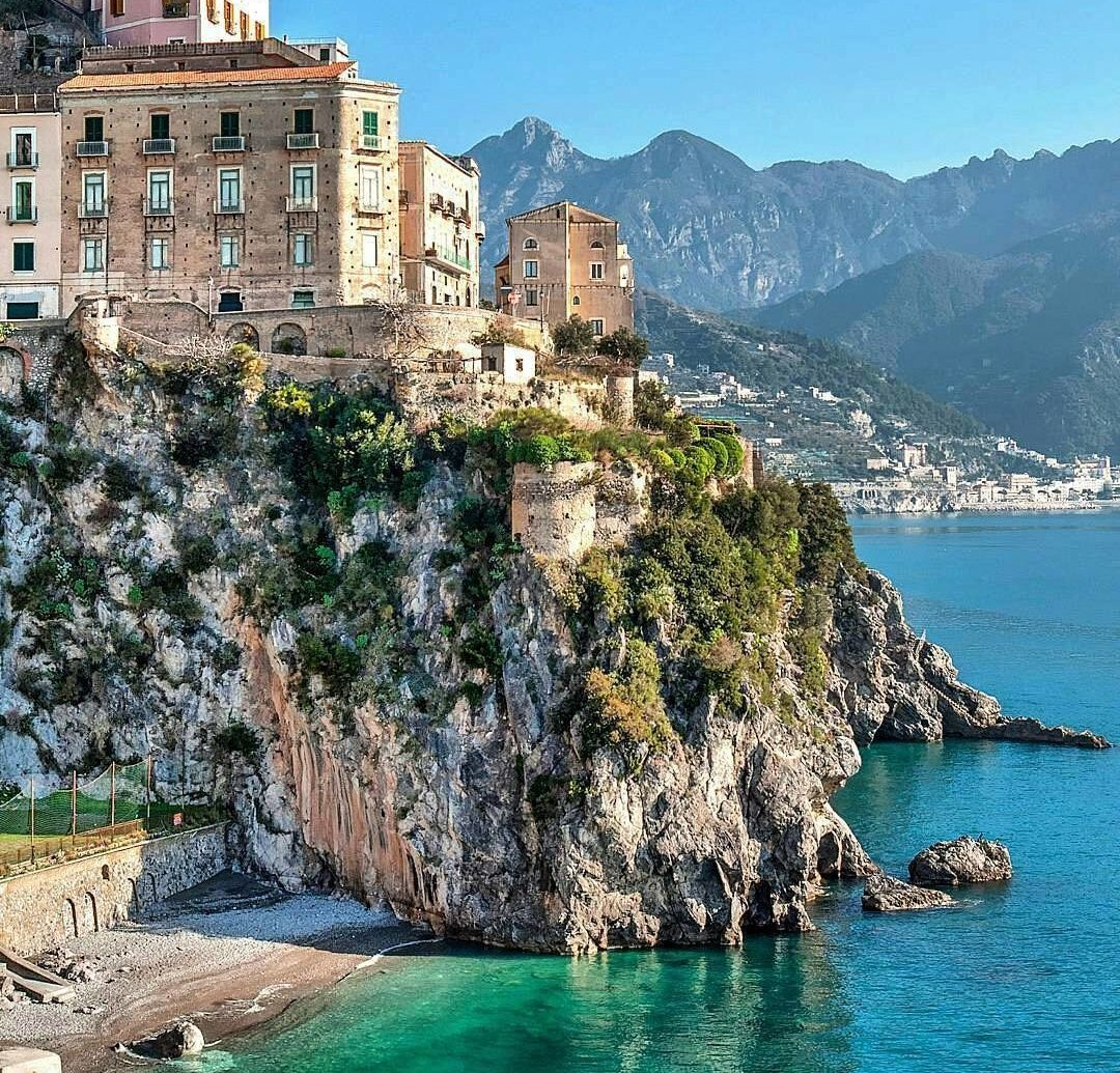 europe Italy Off-the-beaten Path Trip Ideas water outdoor mountain Sea landform geographical feature Coast Town vacation cliff bay tourism terrain cape surrounded